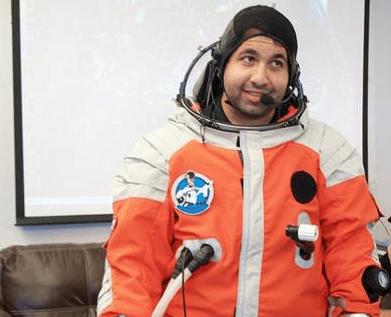 رائد الفضاء أكرم أمين