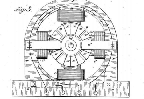 محرك كهربي مغناطيسي